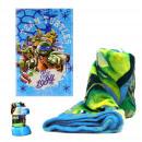 wholesale Garden & DIY store: blancket CORAL  BLUE 95X150 NINJA TURTLES