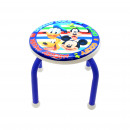 groothandel Klein meubilair:METAL STOOL Mickey BLUE