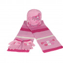 SET HAT SCARF GLOVES Peppa Pig