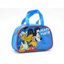 Großhandel Reise- und Sporttaschen: LOW BAG mit  Henkeln Mickey und Pluto