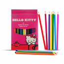 wholesale Gifts & Stationery: BOX 18 PENCILS COLOR Hello Kitty