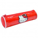 grossiste Fournitures scolaires: FABRIC CASE CYLINDRE Hello Kitty