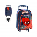 ZAINO TROLLEY Spiderman CAPACITA '34 x 13 x 30