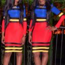 wholesale Dresses: Women's  Clothing - Dress Multicolor Kartia