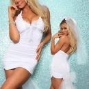Großhandel Kleider: Damenbekleidung - Kleider Weiß Neuss