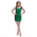Großhandel Kleider: Damenbekleidung - Dress Obi Grün