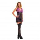 groothandel Kantoor- & winkelbenodigdheden: Lingerie -  Babydoll Purple Zarina