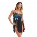 groothandel Winkel & magazijninrichting: Lingerie - Babydoll Elsa Black