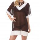 Gorgona dress Marron