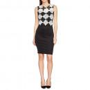 Großhandel Fashion & Accessoires:Schwarz Snowflake-Kleid