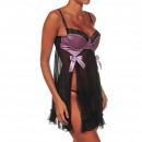 wholesale Business Equipment: Lingerie -  Babydoll Black Pre breast