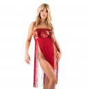 Großhandel Kleider: Lingerie - Minikleid Red Kady