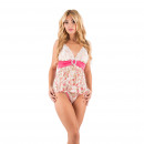 wholesale Business Equipment: Lingerie -  Babydoll Florence Multicolor