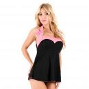 Großhandel Erotik Bekleidung: Dessous - Body Sidney Schwarz