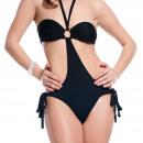 wholesale Business Equipment: Clothing Woman -  Black Triquini Cristel