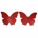 grossiste Fournitures de bureau equipement magasin: Pezoneras lumineux papillon rouge