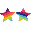 grossiste Fournitures de bureau equipement magasin: Multicolor Rainbow Star Pezoneras