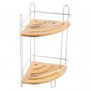 groothandel Badmeubilair & accessoires: Kitchen - HOEK  douche SHELF 2 niveaus D
