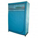 Großhandel Möbel: Küche - WARDROBE BLUE 116X50X178CM