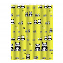 groothandel Vitrage & Gordijnen: Kitchen -  DOUCHEGORDIJN 100% polyester PANDA