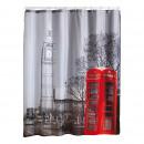 Küche -  DUSCHVORHANG 180 x 200 cm LONDON CITY