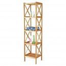 groothandel Meubels: Kitchen - Bamboe  SHELF 5 niveaus 36,5X33X153