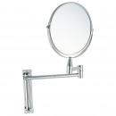 groothandel Spiegels: Kitchen - X2  vergrotende spiegel CHROME