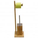 Kitchen - paper  holder and toilet brush BAMBOO