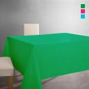 Großhandel Tischwäsche: Küche - RESISTANT  WEGWERFBARE TABLECLOTH GREEN ALM