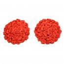 grossiste Fournitures de bureau equipement magasin: Pezoneras Chic Fleur rouge