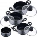 groothandel Batterijen & accu's: Kitchen - Cookware  7 stuks: Ø 14 steelpan,
