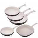 Kitchen - Set pans Bergner Ø20, 26 and 28 cm.