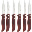 groothandel Messensets: KEUKEN - set van 6 messen Peeler 7,5 cm. STEEL