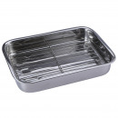 COOKING - GRILL  WITH GRILL 40 cm. STAINLESS STEEL