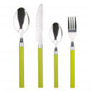 wholesale Cutlery: KITCHEN - SET 24  PIECES STAINLESS STEEL CUTLERY