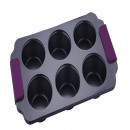 wholesale Business Equipment: KITCHEN - Bergner  -MOLDE 6 CUPCAKES ASA STEEL