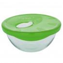KITCHEN - 17.3x8.5CM glass bowl CRISTAL 1L C / T