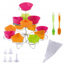 wholesale Business Equipment: KITCHEN - set of  35 pieces to make Cupcakes Mult