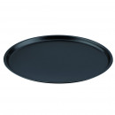 KITCHEN - BLACK  MOLD STEEL PIZZA Ø32.5X1.5CM SG