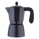 grossiste Cafetiere et percolateur: CUISINE - FLORENCE  BLACK COFFEE 9T ALU SG