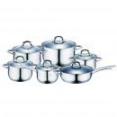 Cucina - BATTERIA cucina 12 pezzi in acciaio inox