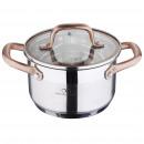 grossiste Maison et cuisine: Cuisine - BERGNER  - CUISEUR 16x10 CM. ACIER INOXID