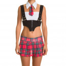 wholesale Skirts: Costumes - Costume Red Schoolgirl