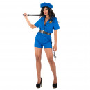 wholesale Erotic Clothing: Costumes - Olaya Police Costume Blue