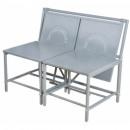 grossiste Maison et cuisine: banc convertible -  gris - meuble de jardin