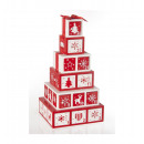 Kalender van Houten Advent - Kerst decoratie
