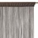 groothandel Vitrage & Gordijnen: gordijn zoon  breedte 90 cm - taupe