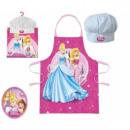 grossiste Maison et cuisine: tablier et toque -  princesses disney - enfants