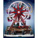 wholesale Kids Vehicles: Ferris wheel -  Village Christmas - light and music