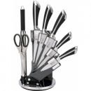 wholesale Knife Sets: set of expensive +  sharpener + scissors - gray e